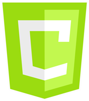 Imageof HTML 5 Canvas technology logo.